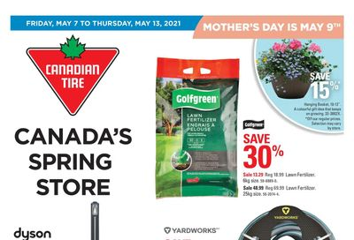 Canadian Tire (West) Flyer May 7 to 13
