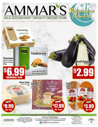 Ammar's Halal Meats Flyer May 6 to 12