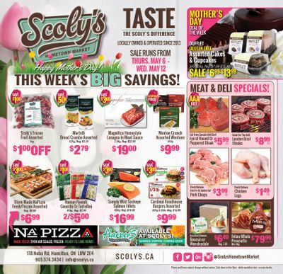 Scoly's Hometown Market Flyer May 6 to 12
