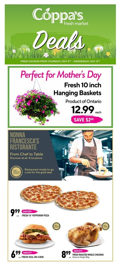 Coppa's Fresh Market Flyer May 6 to 12