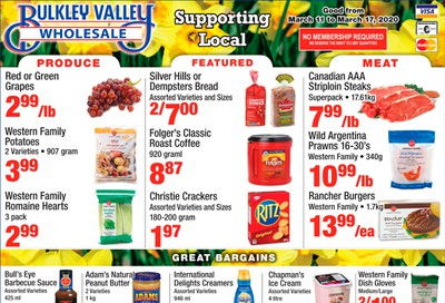 Bulkley Valley Wholesale Flyer March 11 to 17