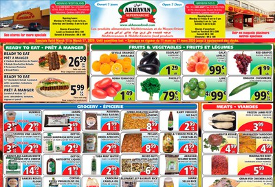 Akhavan Supermarche Flyer March 11 to 17