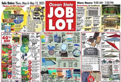 Ocean State Job Lot (CT, MA, ME, NH, NJ, NY, RI) Weekly Ad Flyer May 6 to May 12