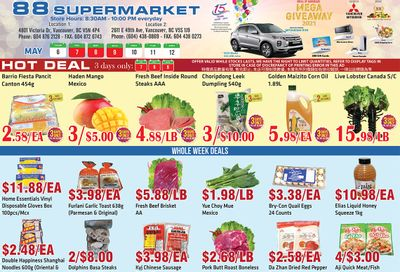 88 Supermarket Flyer May 6 to 12