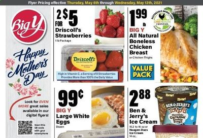 Big Y (MA) Weekly Ad Flyer May 6 to May 12