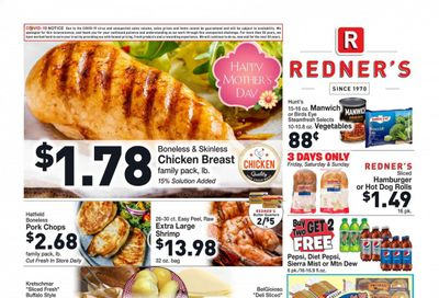 Redner's Markets (DE, MD, PA) Weekly Ad Flyer May 6 to May 12