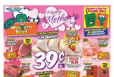 Western Beef Weekly Ad Flyer May 6 to May 12