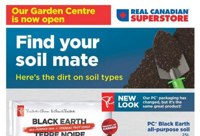 Real Canadian Superstore (West) Garden Centre Flyer May 7 to June 3