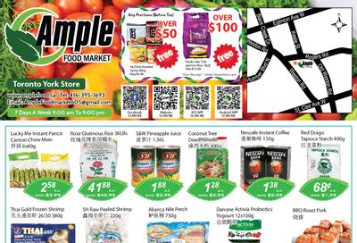 Ample Food Market (North York) Flyer May 7 to 13