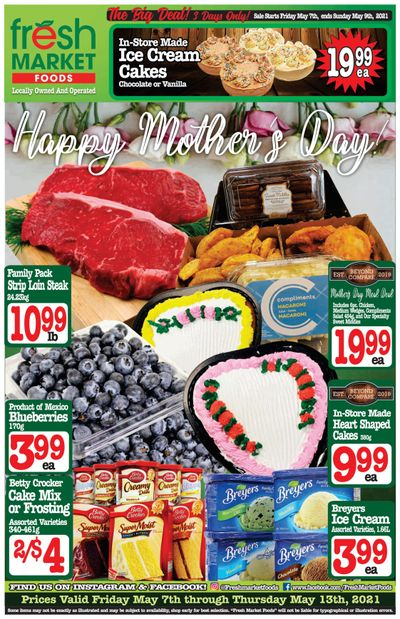 Fresh Market Foods Flyer May 7 to 13