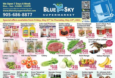 Blue Sky Supermarket (Pickering) Flyer May 7 to 13