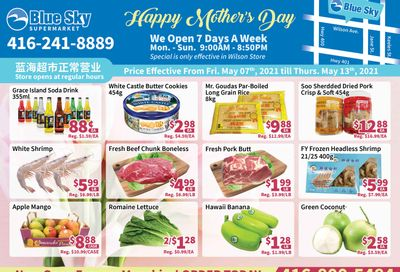 Blue Sky Supermarket (North York) Flyer May 7 to 13
