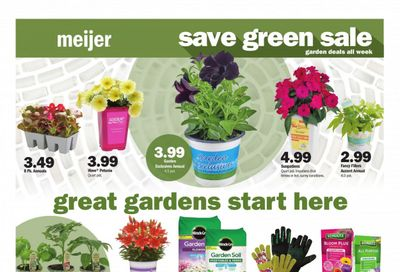 Meijer (IL, IN, KY, MI, OH, WI) Weekly Ad Flyer May 9 to May 15