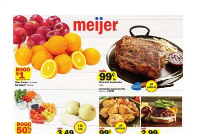 Meijer (IN) Weekly Ad Flyer May 9 to May 15