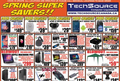 TechSource Flyer May 7 to June 3