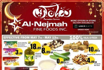 Alnejmah Fine Foods Inc. Flyer May 7 to 13