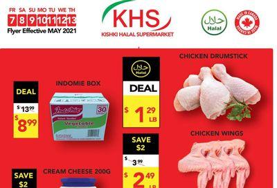 Kishki Halal Supermarket Flyer May 7 to 13