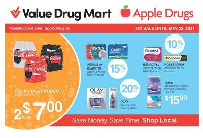 Apple Drugs Flyer May 9 to 22