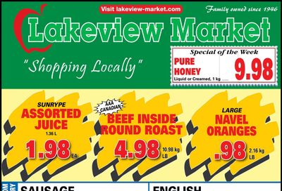 Lakeview Market Flyer May 10 to 16