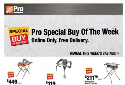 The Home Depot Weekly Ad Flyer May 10 to May 17