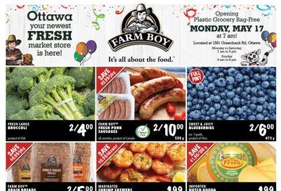 Farm Boy (Ottawa) Flyer May 13 to 19