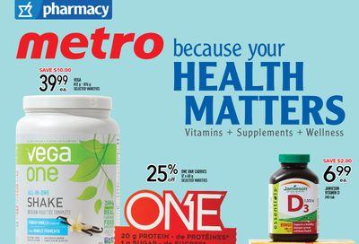 Metro (ON) Pharmacy Flyer May 13 to 26