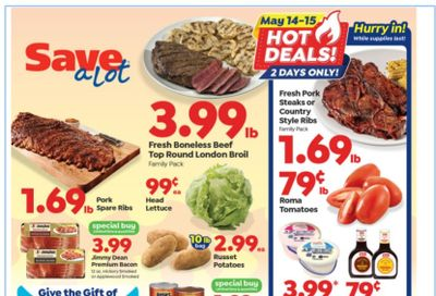 Save a Lot Weekly Ad Flyer May 12 to May 18
