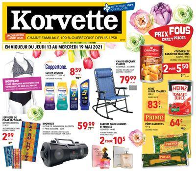 Korvette Flyer May 13 to 19