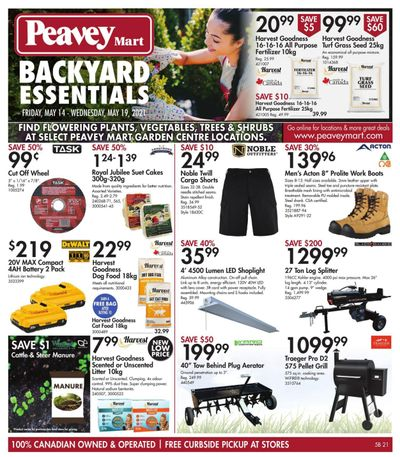 Peavey Mart Flyer May 14 to 19