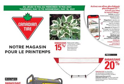 Canadian Tire (QC) Flyer May 13 to 19