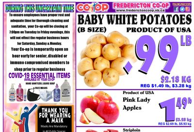 Fredericton Co-op Flyer May 13 to 19