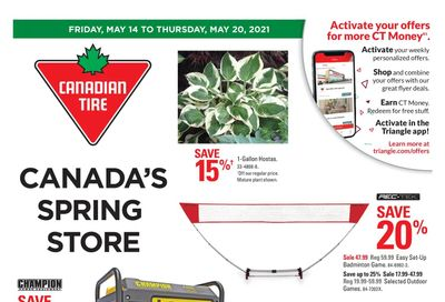 Canadian Tire (Atlantic) Flyer May 14 to 20