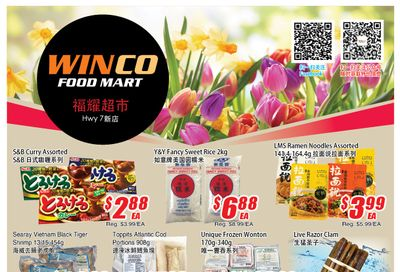 WinCo Food Mart (HWY 7) Flyer May 13 to 19