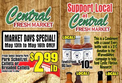 Central Fresh Market Flyer May 13 to 20
