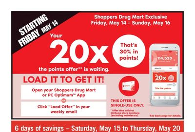 Shoppers Drug Mart (West) Flyer May 15 to 20