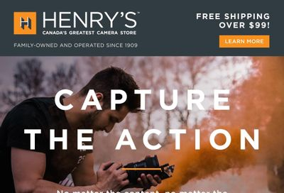 Henry's Flyer May 14 to 27