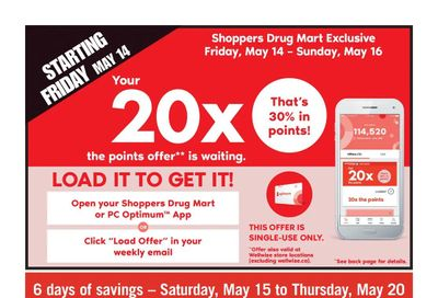 Shoppers Drug Mart (Atlantic) Flyer May 15 to 20