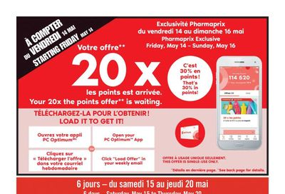 Pharmaprix Flyer May 15 to 20