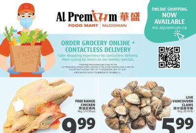Al Premium Food Mart (McCowan) Flyer May 13 to 19