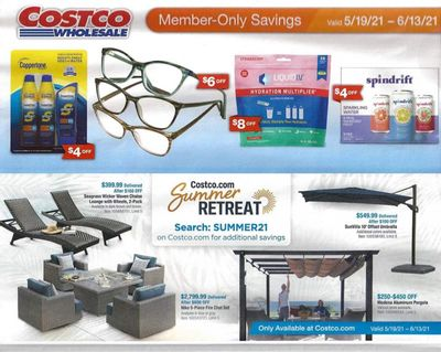 Costco Weekly Ad Flyer May 19 to June 13