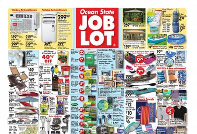 Ocean State Job Lot (CT, MA, ME, NH, NJ, NY, RI) Weekly Ad Flyer May 13 to May 19