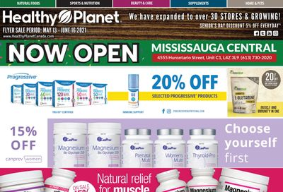 Healthy Planet Flyer May 13 to June 16