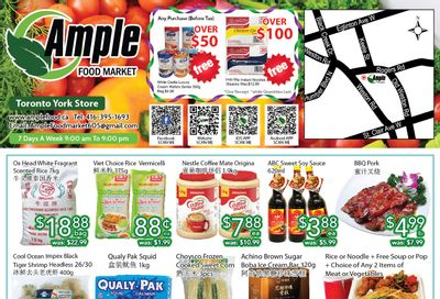 Ample Food Market (North York) Flyer May 14 to 20
