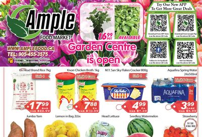 Ample Food Market (Brampton) Flyer May 14 to 20