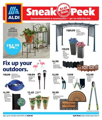 ALDI Weekly Ad Flyer May 19 to May 25