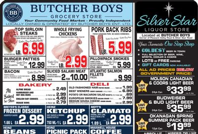 Butcher Boys Grocery Store Flyer May 14 to 24