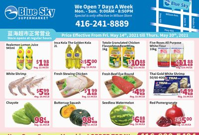 Blue Sky Supermarket (North York) Flyer May 14 to 20