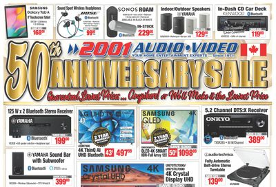 2001 Audio Video Flyer May 14 to 20