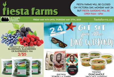 Fiesta Farms Flyer May 14 to 27