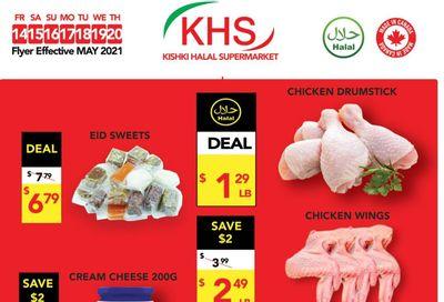 Kishki Halal Supermarket Flyer May 14 to 20
